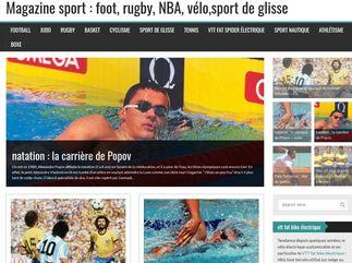 Magazine sport